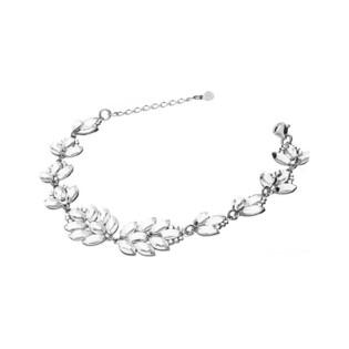 Bransoleta srebrna GRACE z kryształkami Swarovski RD 778-1 crystal próba 925