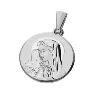 Medalik srebrny Matka Boska Bolesna nr PW 204 próba 925