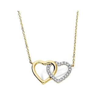 Naszyjnik złoty z diamentami z kolekcji Happy Diamond nr AW 03998 Y
