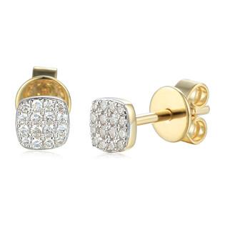 Kolczyki z diamentami na sztyfcie AW 76548 Y-08276 Y próba 585
