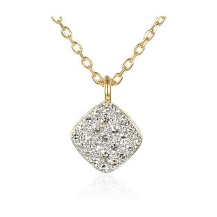 Naszyjnik złoty z diamentami AW 76548 Y-08276 Y próba 585