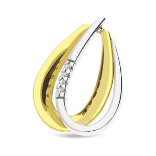 Zawieszka złota z diamentami nr BU 735985-232376 Au 585