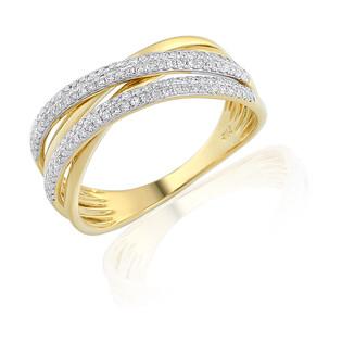 Pierścionek zaręczynowy z diamentami nr AW 35444