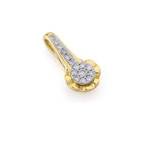 Zawieszka złota z diamentami kolekcja Mirage nr AW 38965 YW próba 585