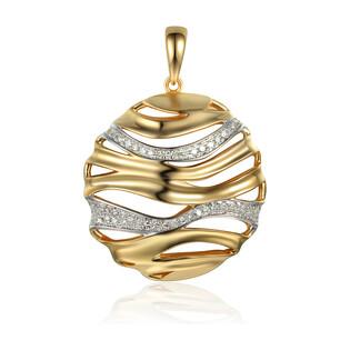 Zawieszka złota z diamentami AW 31868 Y próba 585