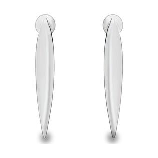 Kolczyki srebrne w kształcie kłów nr SZ SG-210-KS-S próba 925