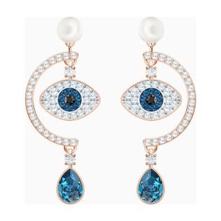 Kolczyki sztyftowe Swarovski Złe oko z kolekcji Luckily DM S1 5425860