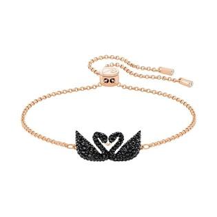 Bransoleta Swarovski Iconic Swan: Double JET S1 5344132