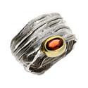 Pierścionek srebrny z granatem ARTIS G.KABIRSKI GA R357 GRANAT próba 925