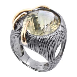 Pierścionek srebrny z cytrynem ARTIS G.KABIRSKI GA R2022 CYTRYN