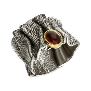 Pierścionek srebrny z granatem ARTIS G.KABIRSKI GA R1012 GRANAT próba 925