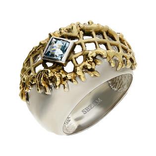 Pierścionek srebrny z topazem ARTIS G.KABIRSKI GA R111 TOPAZ próba 925