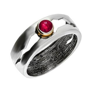 Pierścionek srebrny z rubinem ARTIS G.KABIRSKI GA R335 RUBIN próba 925