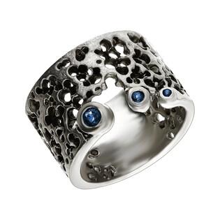 Pierścionek srebrny z szafirem ARTIS G.KABIRSKI GA R21081 SZAFIR próba 925