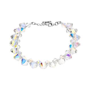 Bransoleta srebrna GRACE z kryształami Swarovskiego RD 2 375-1 próba 925
