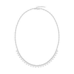 Naszyjnik srebrny GRACE z kryształami Swarovskiego RD 2 375-1 próba 925