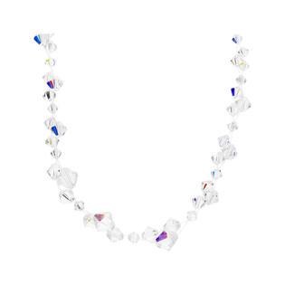 Naszyjnik srebrny GRACE z kryształami RD 461-1 próba 925 Sezam - 1