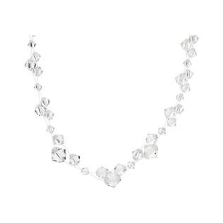 Naszyjnik srebrny GRACE z kryształami Swarovskiego RD 461-1 crystal próba 925