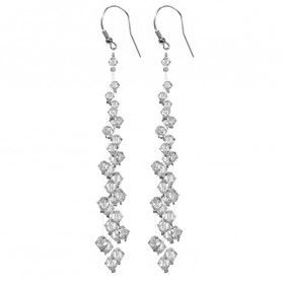 Kolczyki srebrne wiszące GRACE RD 394-1 crystal próba 925