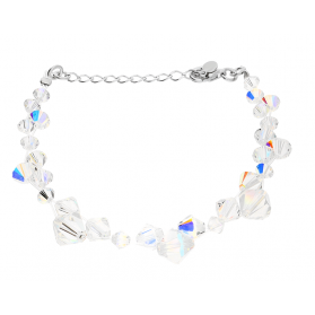Srebrna bransoleta GRACE z kryształami RD 375-1 próba 925 Sezam - 1