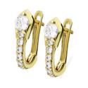 Kolczyki złote dla dziewczynki nr MZ T5-E-BB278-CZ próba 333 Sezam - 1