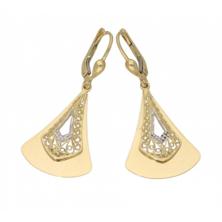 Kolczyki złot ażurowe nr AR 211649 próba 585 Sezam - 1