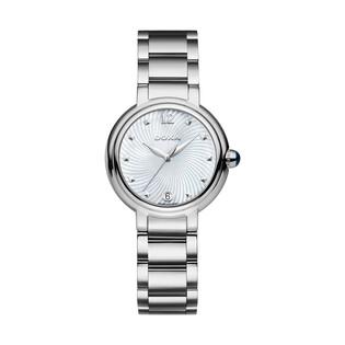 Zegarek damski szwajcarski Doxa Blue Stone - 510.15.056.10