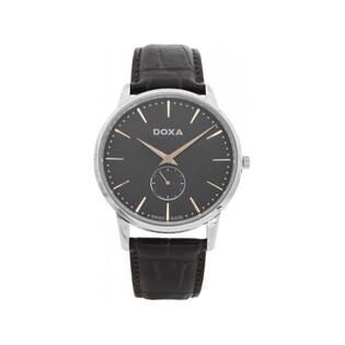 Zegarek męski szwajcarski Doxa Slim Line - 105.10.101R.02
