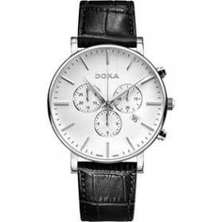 Zegarek męski szwajcarski Doxa D-Light - 172.10.011.01