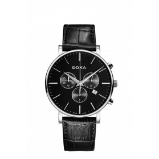 Zegarek męski szwajcarski Doxa D-Light - 172.10.101.01