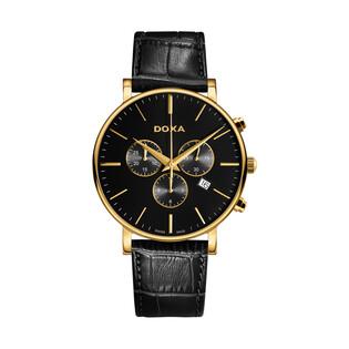 Zegarek męski szwajcarski Doxa D-Light - 172.30.101.01