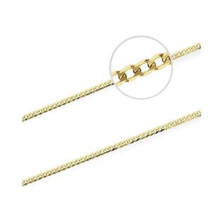 Łańcuszek złoty pancer nr VK GAXPDE 0+1 080 próba 585 Sezam - 1