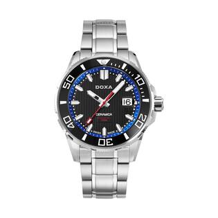 Zegarek męski szwajcarski Doxa Into The Ocean - 707.10.191.10