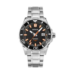 Zegarek męski szwajcarski Doxa Into The Ocean - 707.10.101.10