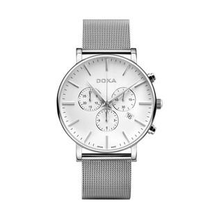 Zegarek męski szwajcarski Doxa D-Light Chrono - 172.10.011.2.10