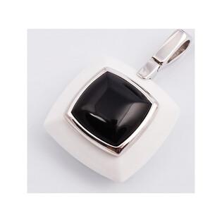 Zawieszka srebrna z mineralitem kolekcja Elite nr SA 2261 Sezam - 1