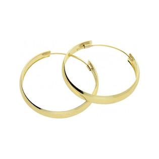 Kolczyki złote kółka nr OS 230-OP20 14 karat Sezam - 1