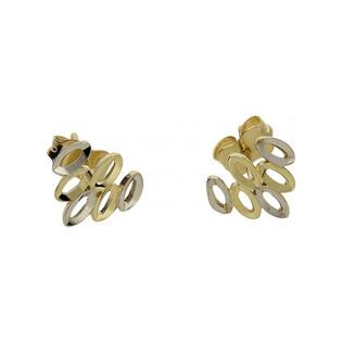 Złote kolczyki sztyfty nr AR X3E211330-YW-DC próba 333 Sezam - 1