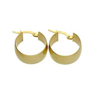 Kolczyki złote koła nr OP370 Sezam - 1