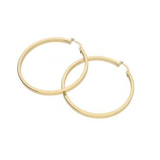 Kolczyki złote koła nr OP371 Sezam - 1