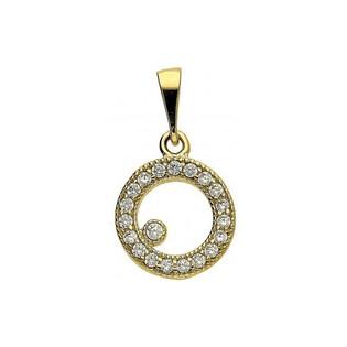 Zawieszka złota z kolekcji Fancy nr c Sezam - 1