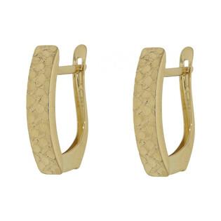 Damskie kolczyki ze złota nr AR 6266-10 próba 585 Sezam - 1