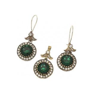Komplet biżuterii ze srebra i mosiądzu Sophie Thao nrSR 39ZSezam - 1