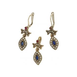 Komplet srebrny biżuterii z kolekcji Sophie Thao nr SR 52N Sezam - 1