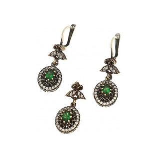 Komplet srebrny biżuterii nr SR 60Z Sezam - 1