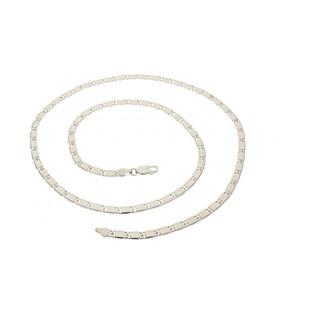 Łańcuszek blaszki BC 1766-075 próba 925 Sezam - 1