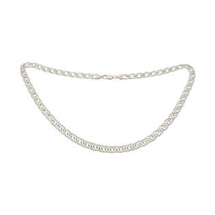 Łańcuszek rombo BC 1436-080 próba 925 Sezam - 1