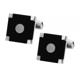 Spinki stalowe męskie numer MB A1835 KK kolekcja Steelman Sezam - 1