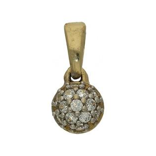 Zawieszka złota z cyrkoniami nr OS 96-5103 próba 585 Sezam - 1