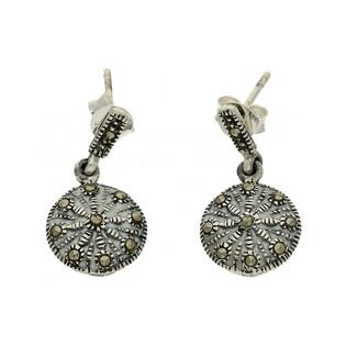 Kolczyki srebrne z kolekcji Art Deco numer MLKK0417 Sezam - 1